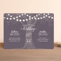 Garden Lights Wedding Invitations by Hooray Creative | Minted