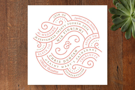 Linea Wedding Invitations