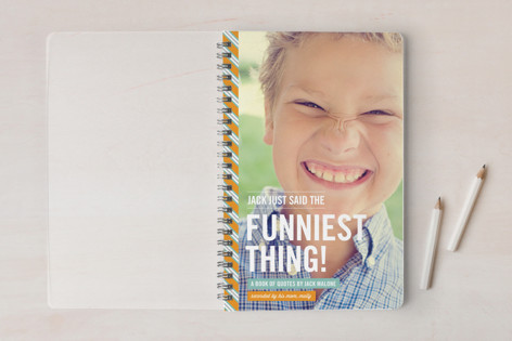 The Funniest Thing Day Planner, Notebook, or Address Book