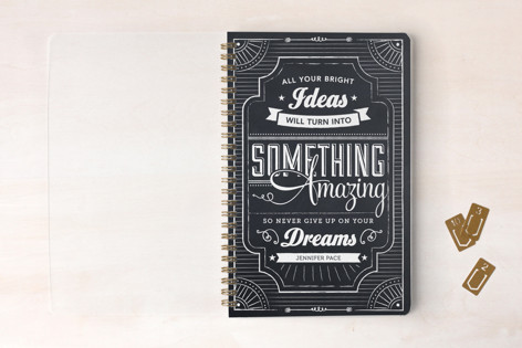 Chalkboard Dreams Day Planner, Notebook, or Address Book