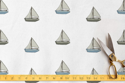small boats pattern