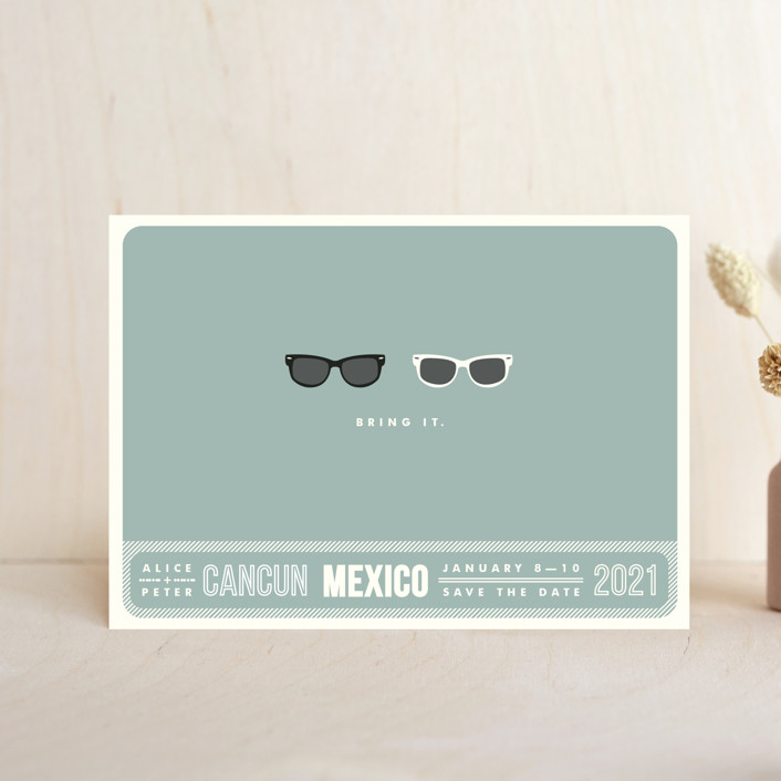 Shades Save the Date Postcards