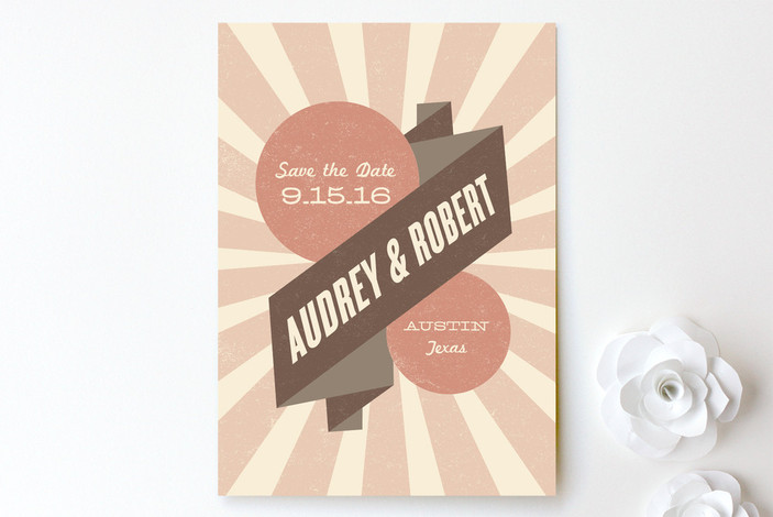 Big Top Save the Date Cards