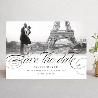 Clean Script Save the Date Cards