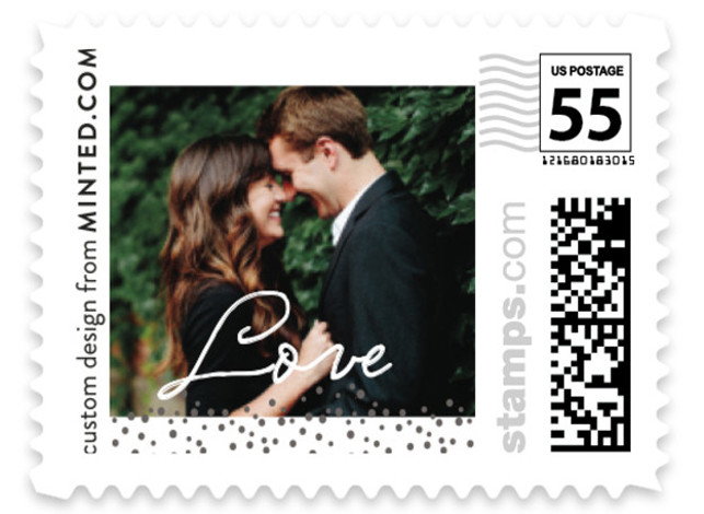custom postage stamps minted