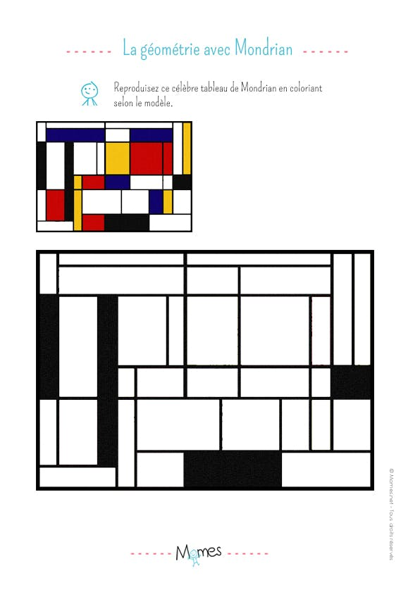 La Gomtrie Avec Mondrian