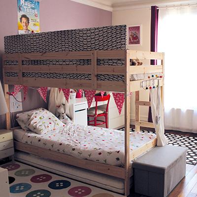 Sparer une chambre pour 2 enfants avec un lit superpos  Momesnet