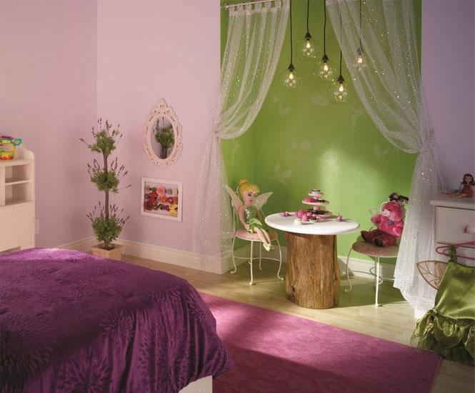 La chambre denfant de la fe Clochette  Momesnet