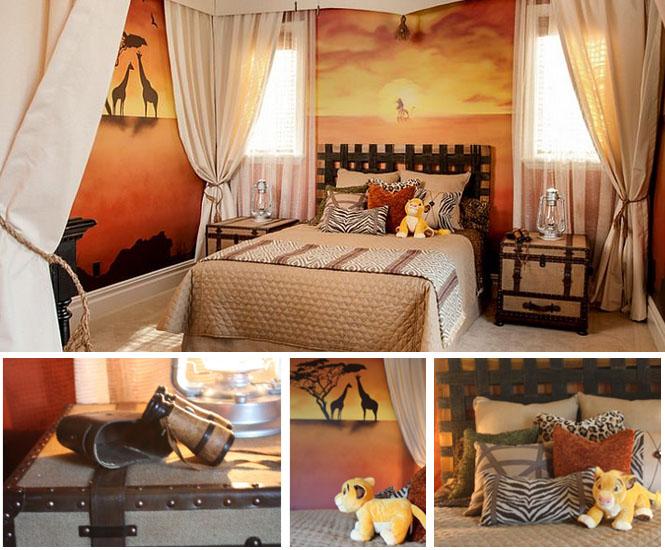 La Chambre Denfant Roi Lion