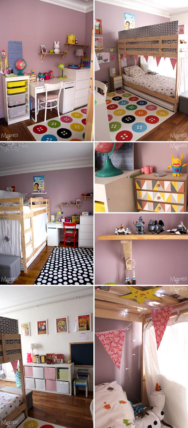 Sparer Une Chambre Pour 2 Enfants Avec Un Lit Superpos