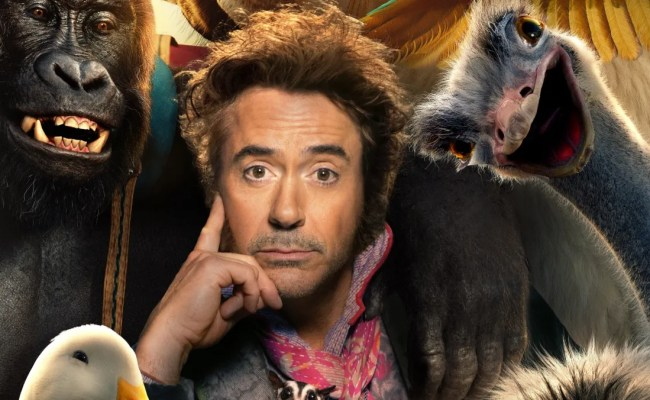 Dolittle Poster Brings First Look At Robert Downey Jr As