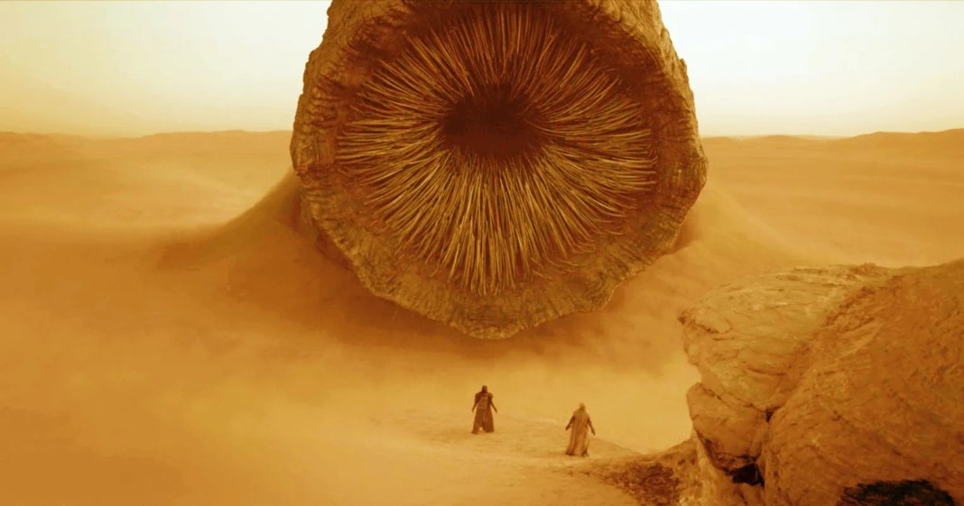 Dune Fans Love the New Sandworm Revealed in the First Trailer | Lenexweb