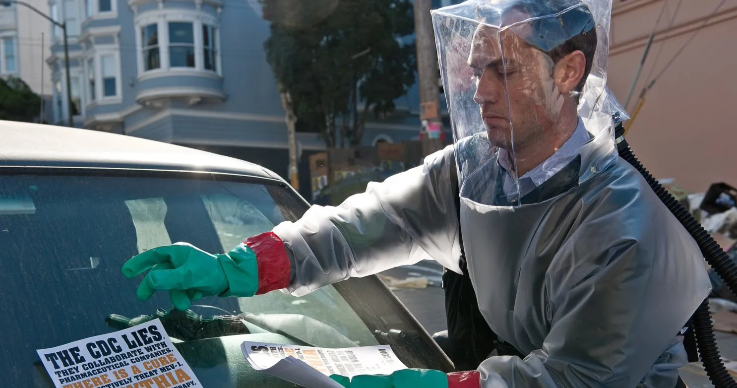 Jude Law Knew Pandemic Was Inevitable After Filming 'Contagion' with Experts
