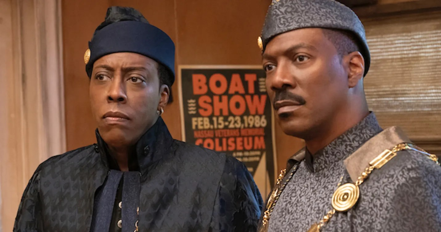 One 'Coming 2 America' Tweet Really Shook Arsenio Hall's Views About Making a Sequel