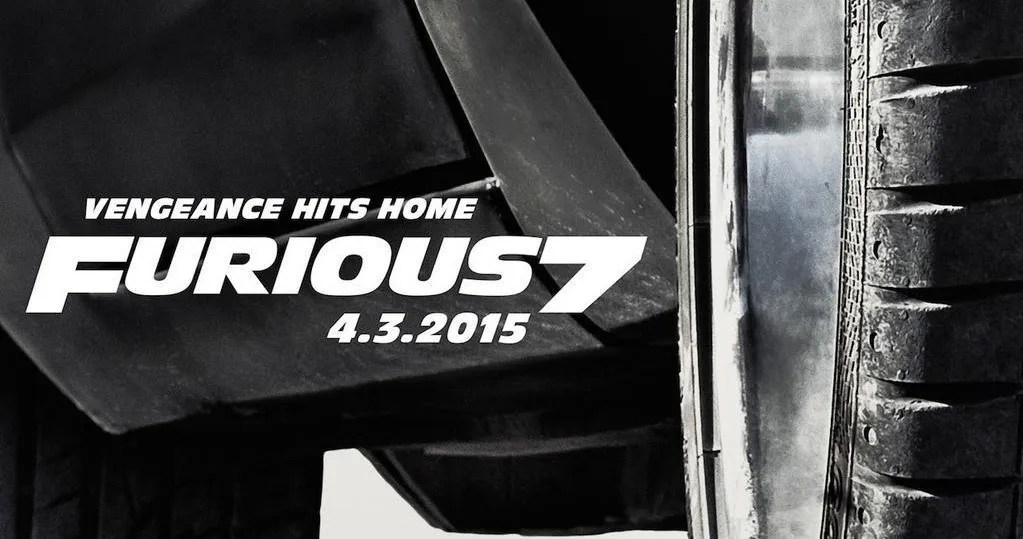 Furious 7 Poster Vengeance Hits Home