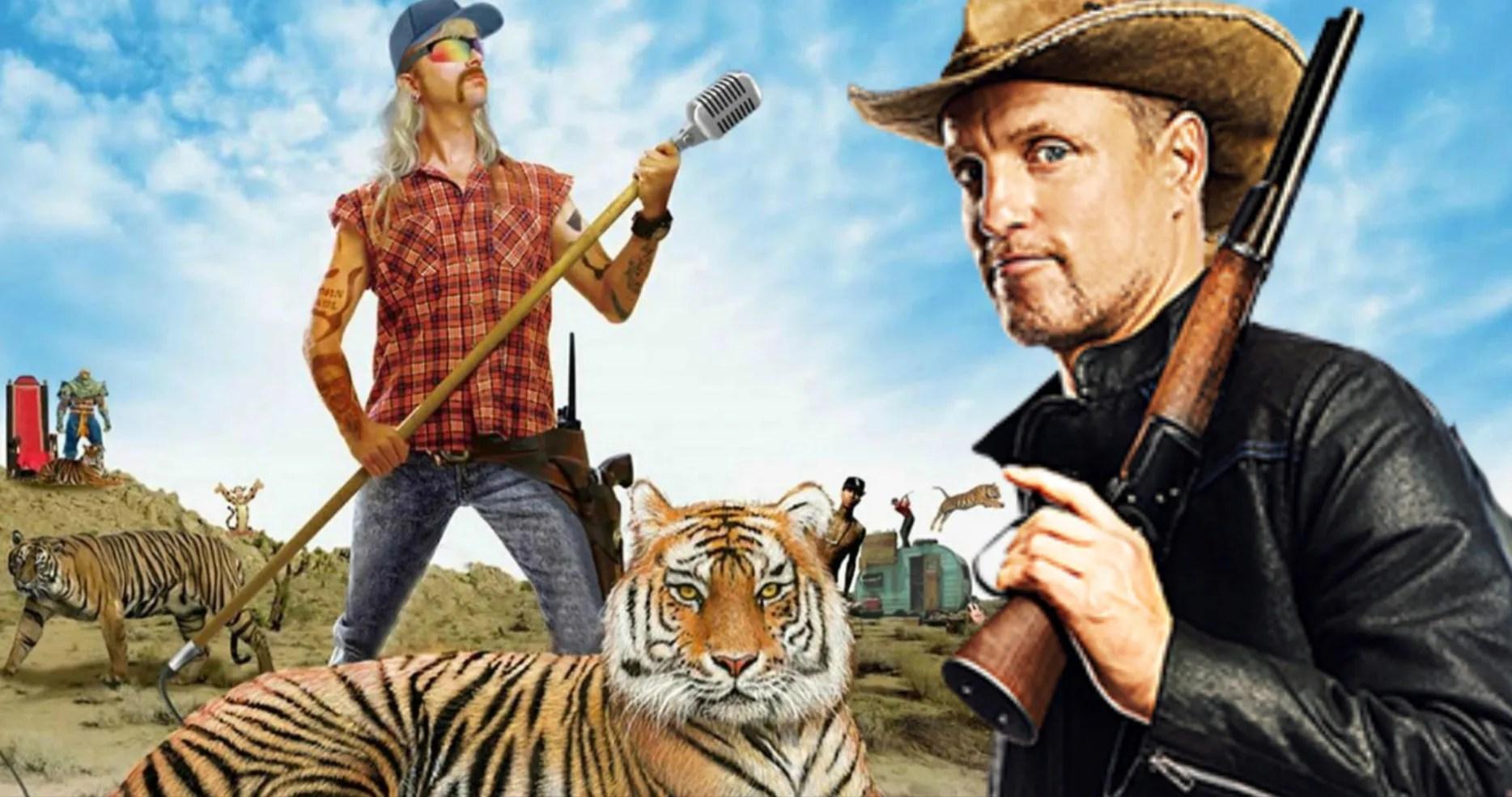 Funny Background Tiger King