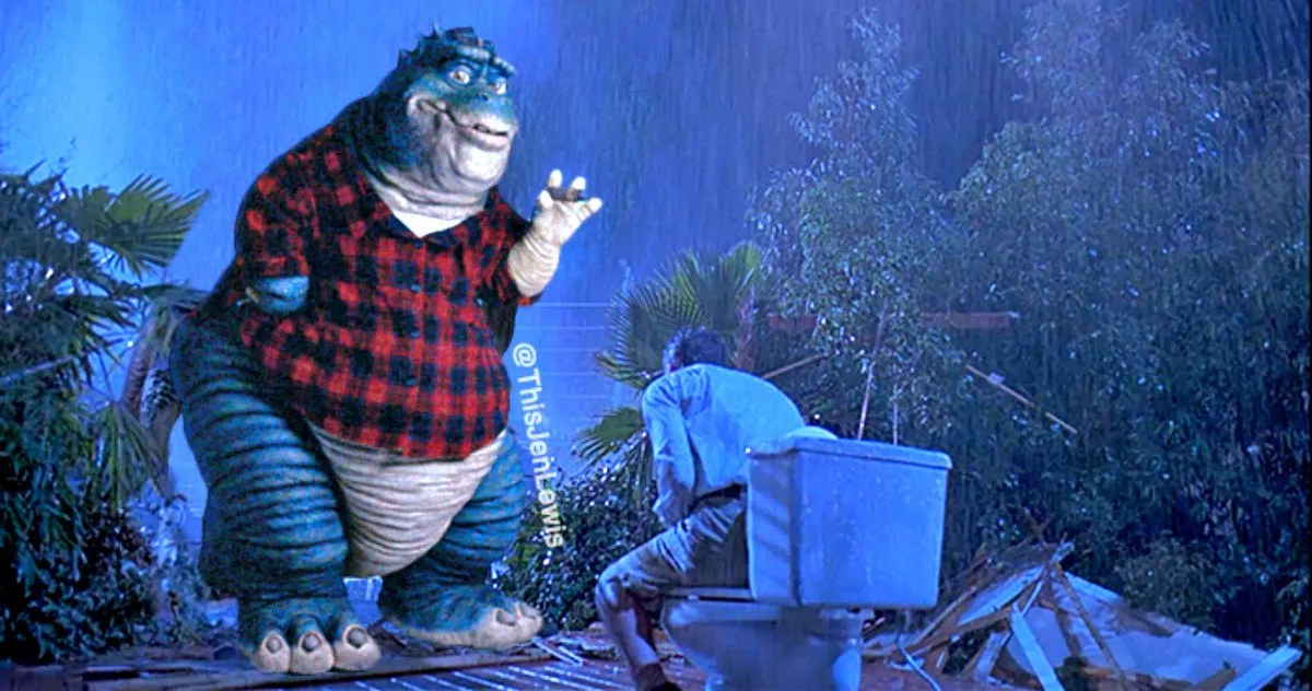 Jurassic Park Meets 90s TV Show Dinosaurs In The Ultimate