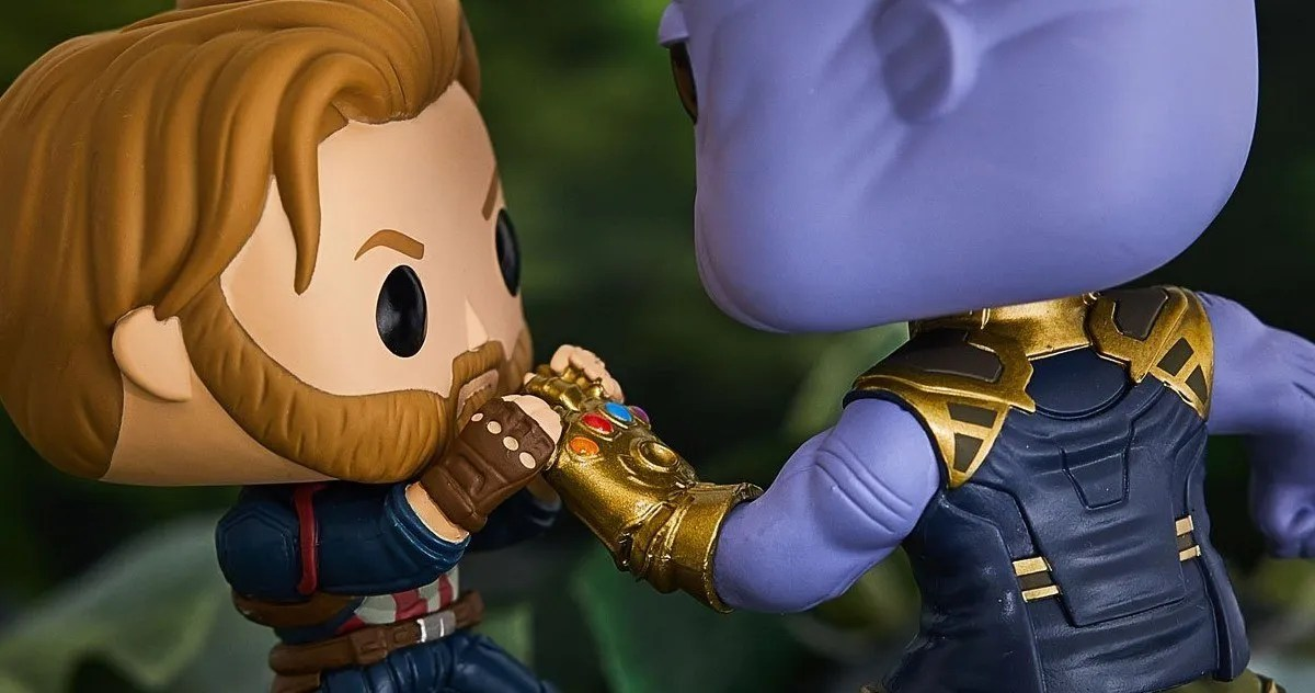 Cap Vs Thanos Funko Pop Pays Close Attention To Infinity