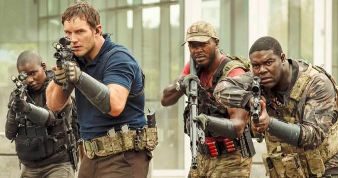 明日戰爭 Chris Pratt