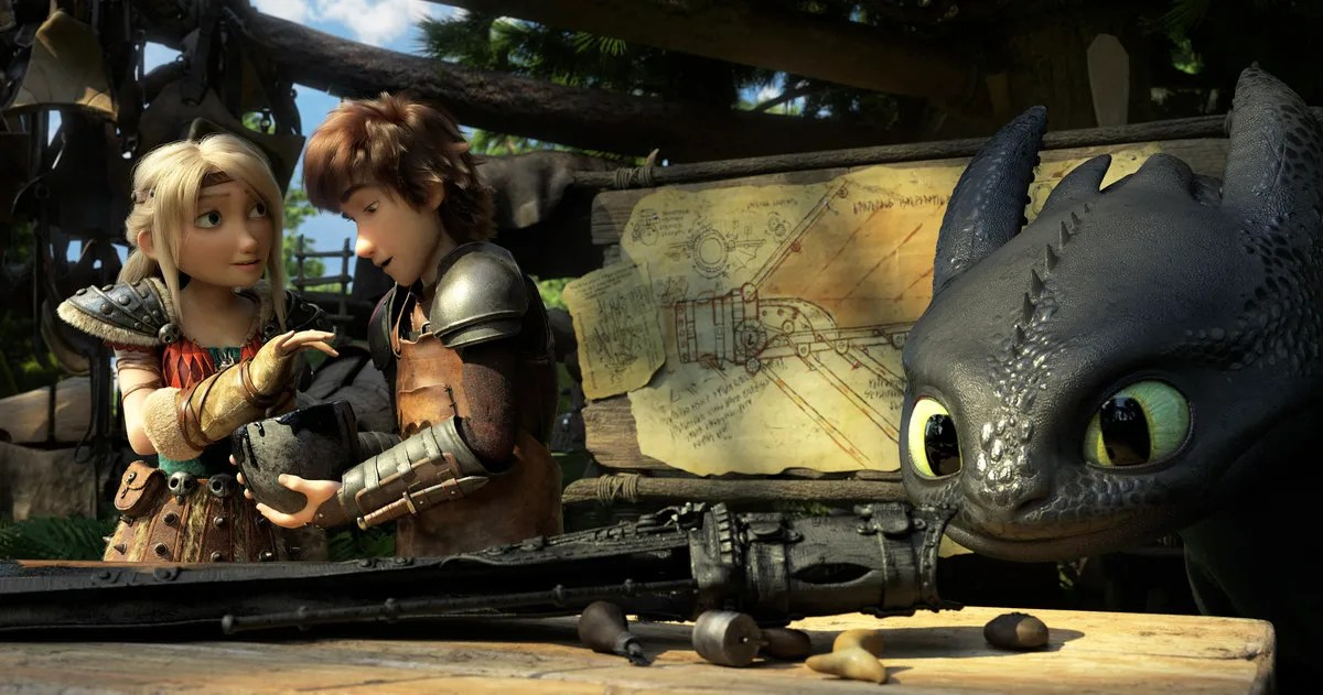 How to Train Your Dragon 3 The Hidden World Clip  Images