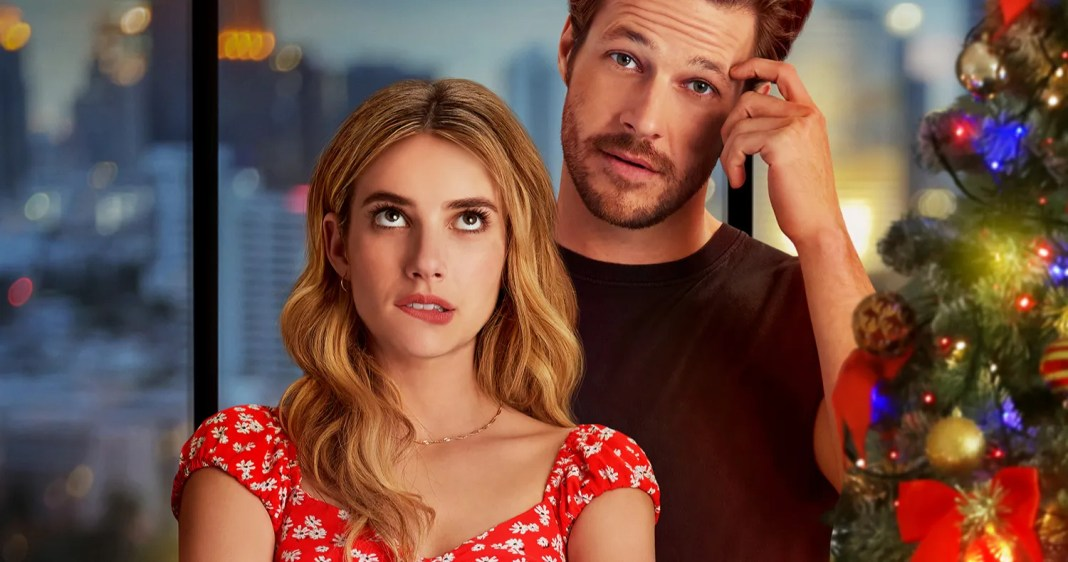 Holidate Trailer Has Emma Roberts Luke Bracey Hooking Up For The Holidays On Netflix Lenexweb