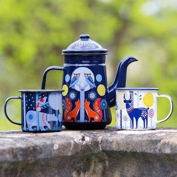Folklore Woodland Enamel Mug