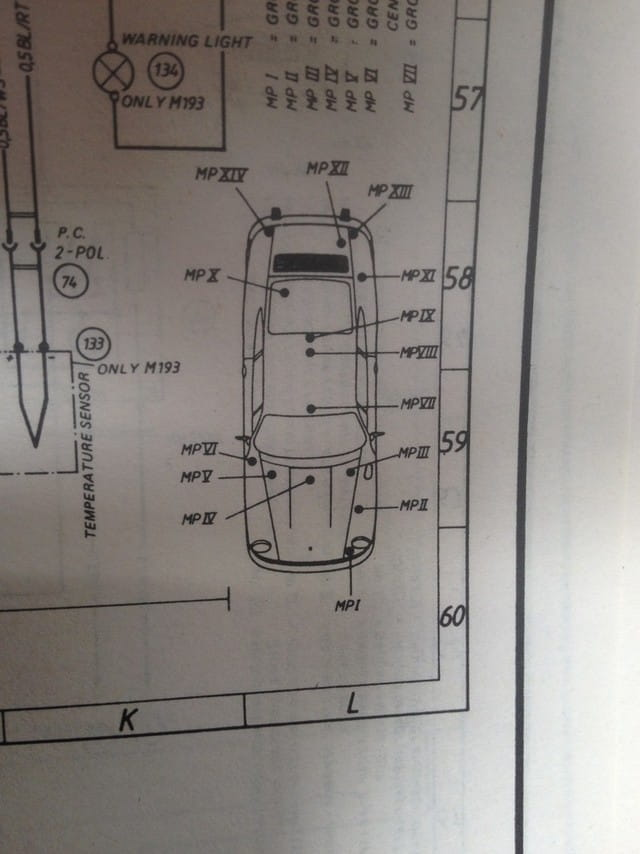 Electrical Diagram 911 1965 Electrical Diagram 911s 1965