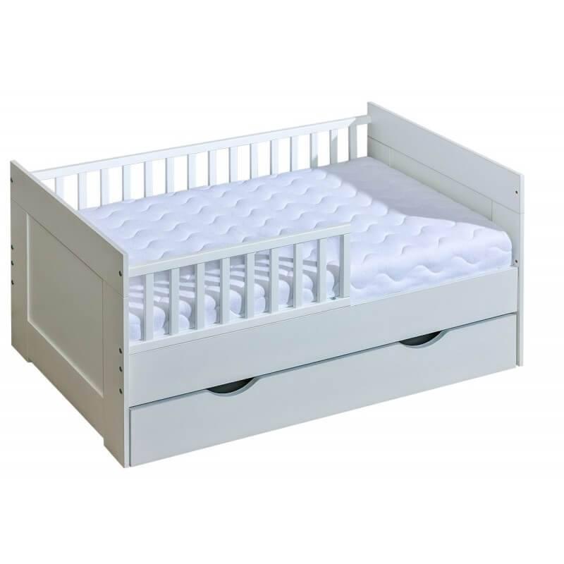 mon premier lit junior 70 x 160 cm blanc