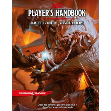 Dungeons Dragons 5e Ed Player S Handbook Manuel Des Joueurs Version Francaise