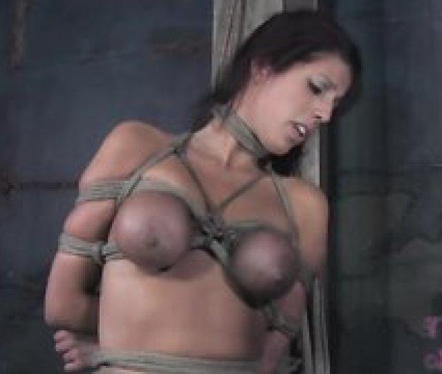 4214 Astonishing Glamour Girl Is Trying Hogtie Bondage