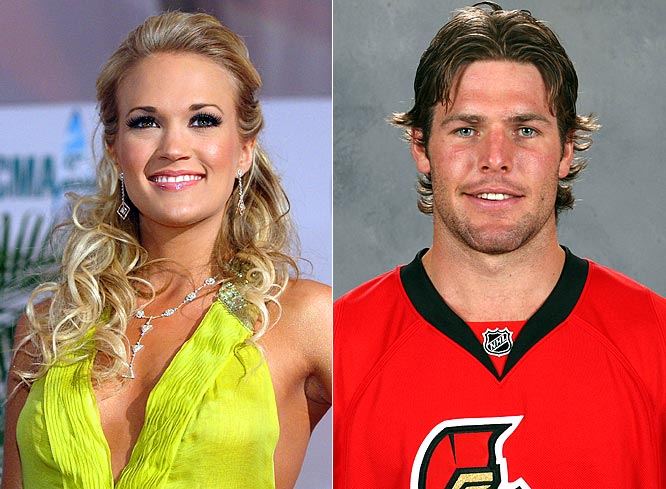 Carrie Underwood engaged to Ottawa Senators' Mike Fisher - can she bring him