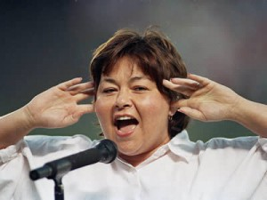 Roseanne Barr sang the National Anthem between Padres games 20 ...