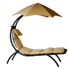 Outdoor Dream Chair Design Yellow Lounger Sharper Image 100 Satisfaction Guaranteed