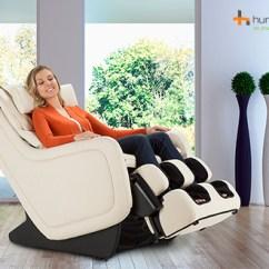 Sharper Image Massage Chairs White Resin Wicker Human Touch Zero Gravity 5