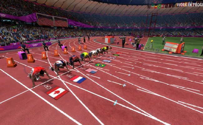 Screens London 2012 The Official Video Game Of The