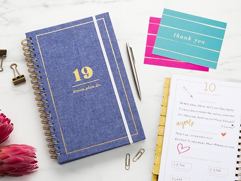 2019 inspirational daily planner