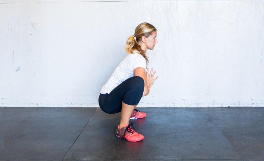 yoga squat yogi squat