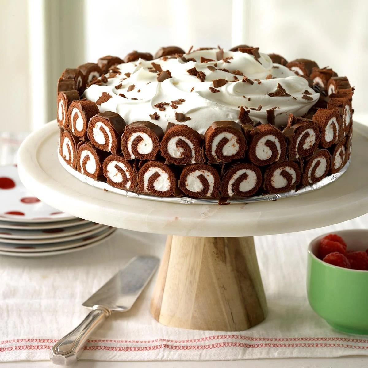 Chocolate Swirl Delight Recipe Taste Of Home