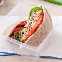 Garden Tuna Pita Sandwiches Recipe Taste Of Home