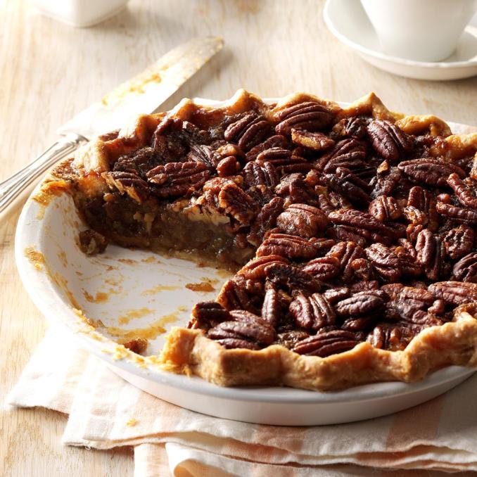 Honey Pecan Pie Recipe   Taste of Home