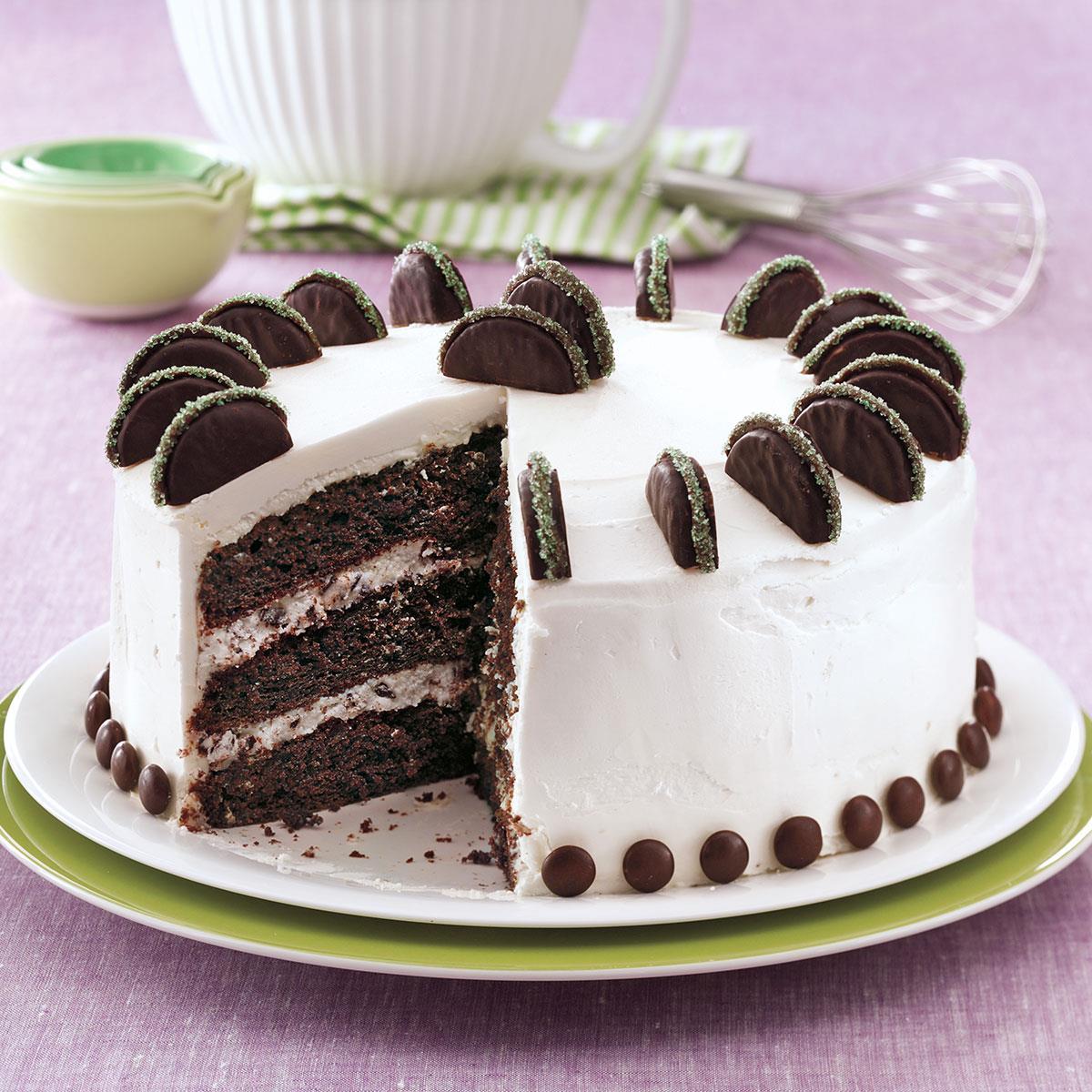 Mint Patty Cake Recipe