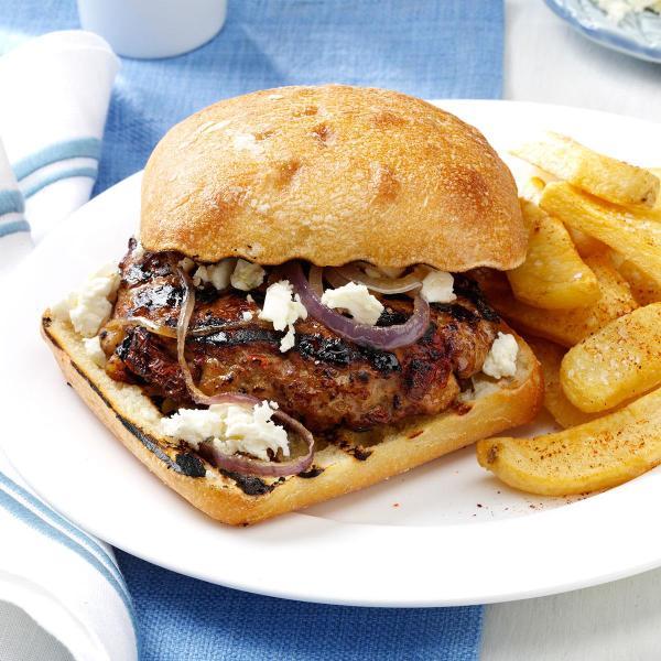 SunDried Tomato Turkey Burgers Recipe Taste of Home