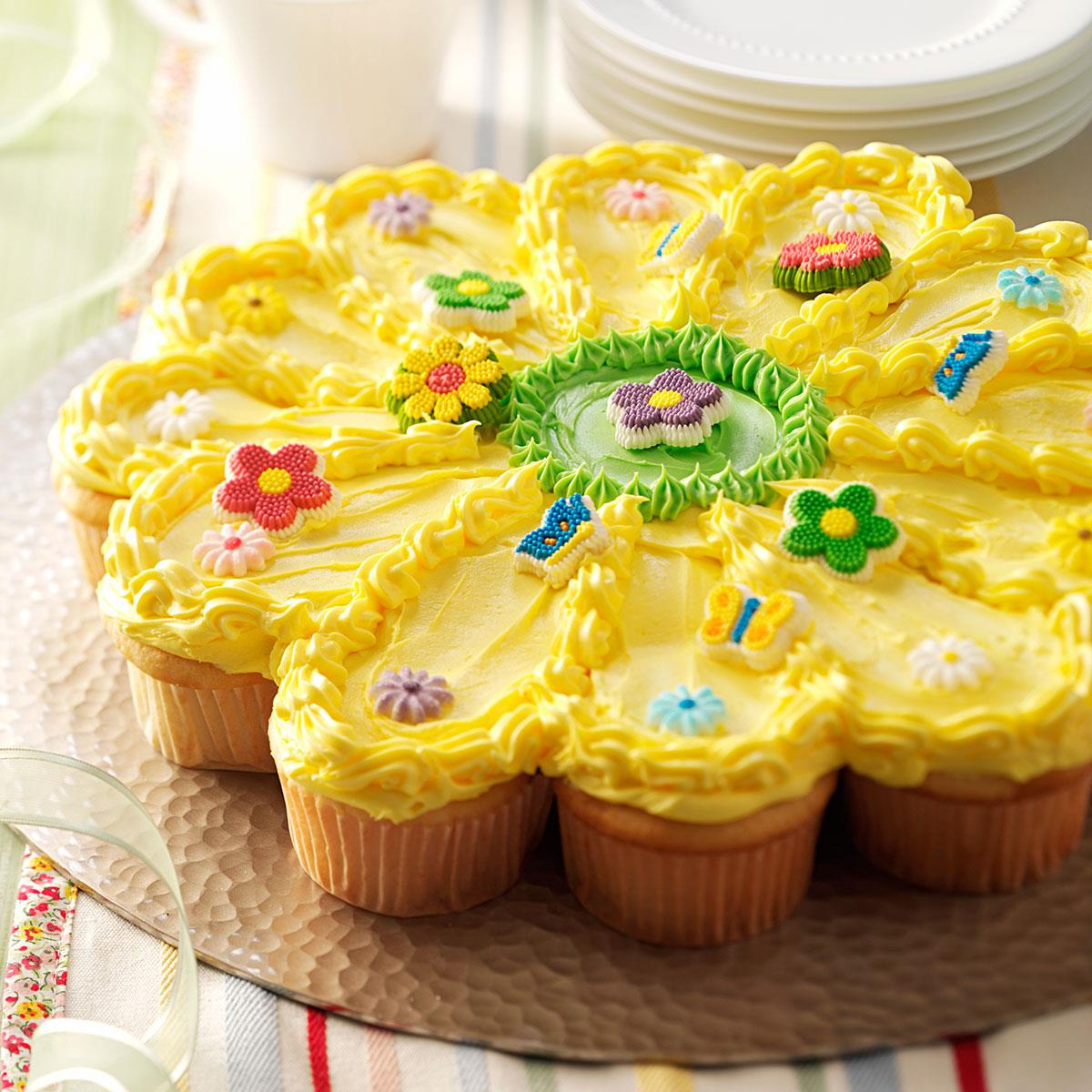 Sunny Flower Cake Recipe