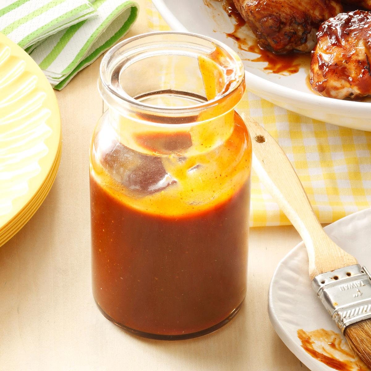 Sweet & Spicy Barbecue Sauce Recipe | Taste of Home
