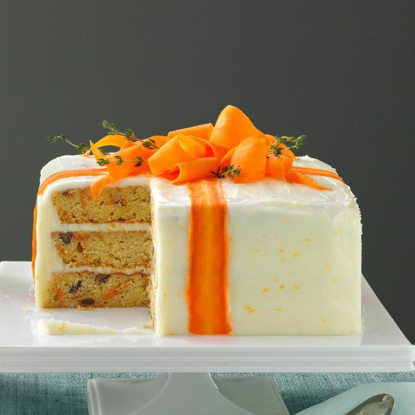 Three-layered Carrot Cake Recipe Taste Of Home