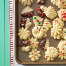 Buttery Spritz Cookies Recipe Taste Of Home