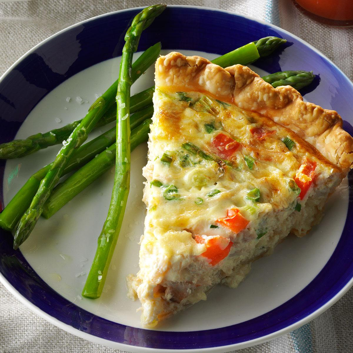 Crab Quiche Recipe Taste Of Home