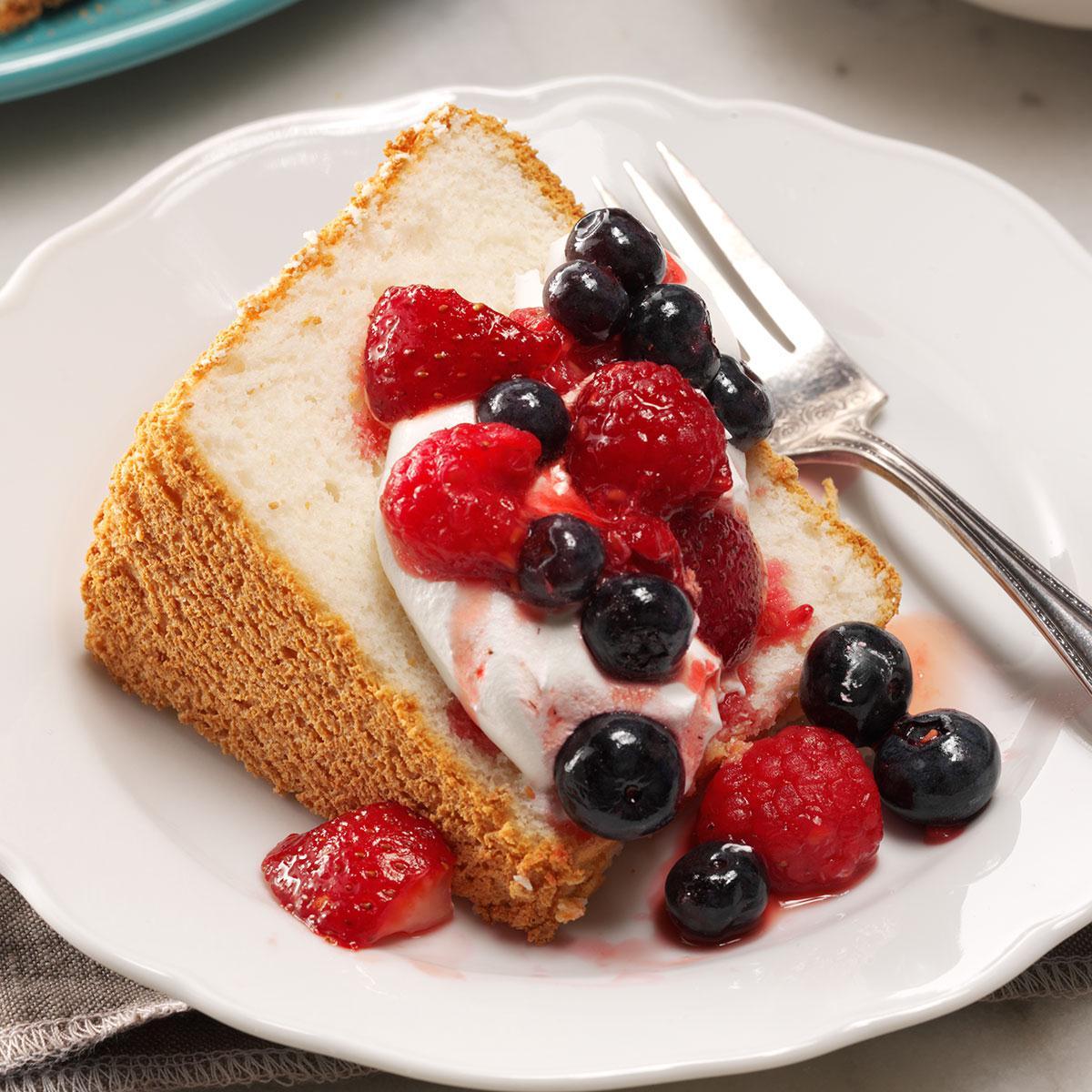 Angel Food Cake Recipe Taste Of Home