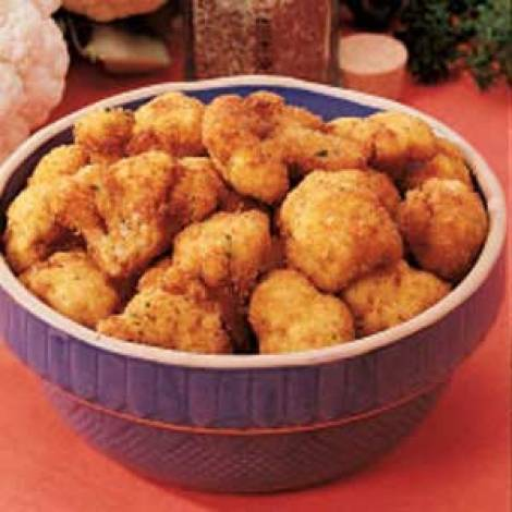Breaded Cauliflower Recipe