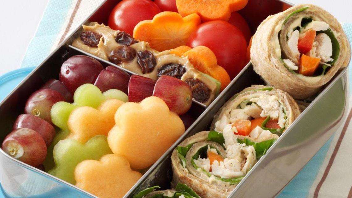 Lunch Box Chicken Wrap Recipe How To Make It Taste Of Home